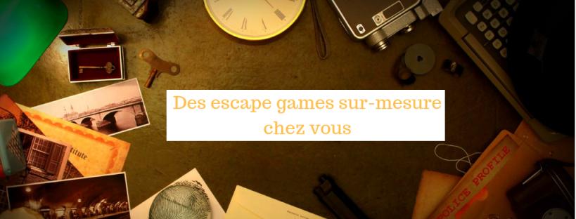 Les chasses au trésor de Sophie propose des Escape games sur mesure, à mettre en place chez vous